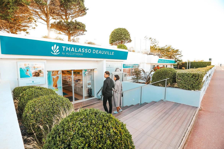entrée Thalasso Deauville by Algotherm